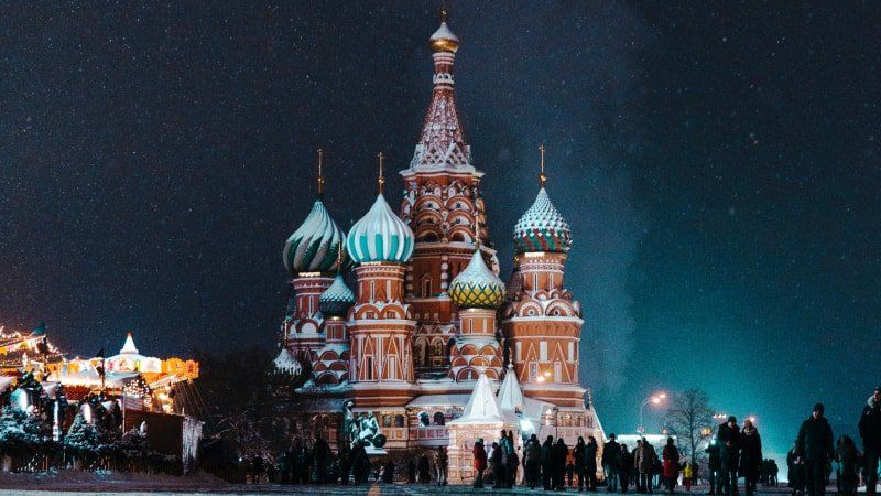 Private tour to Russia in Winter