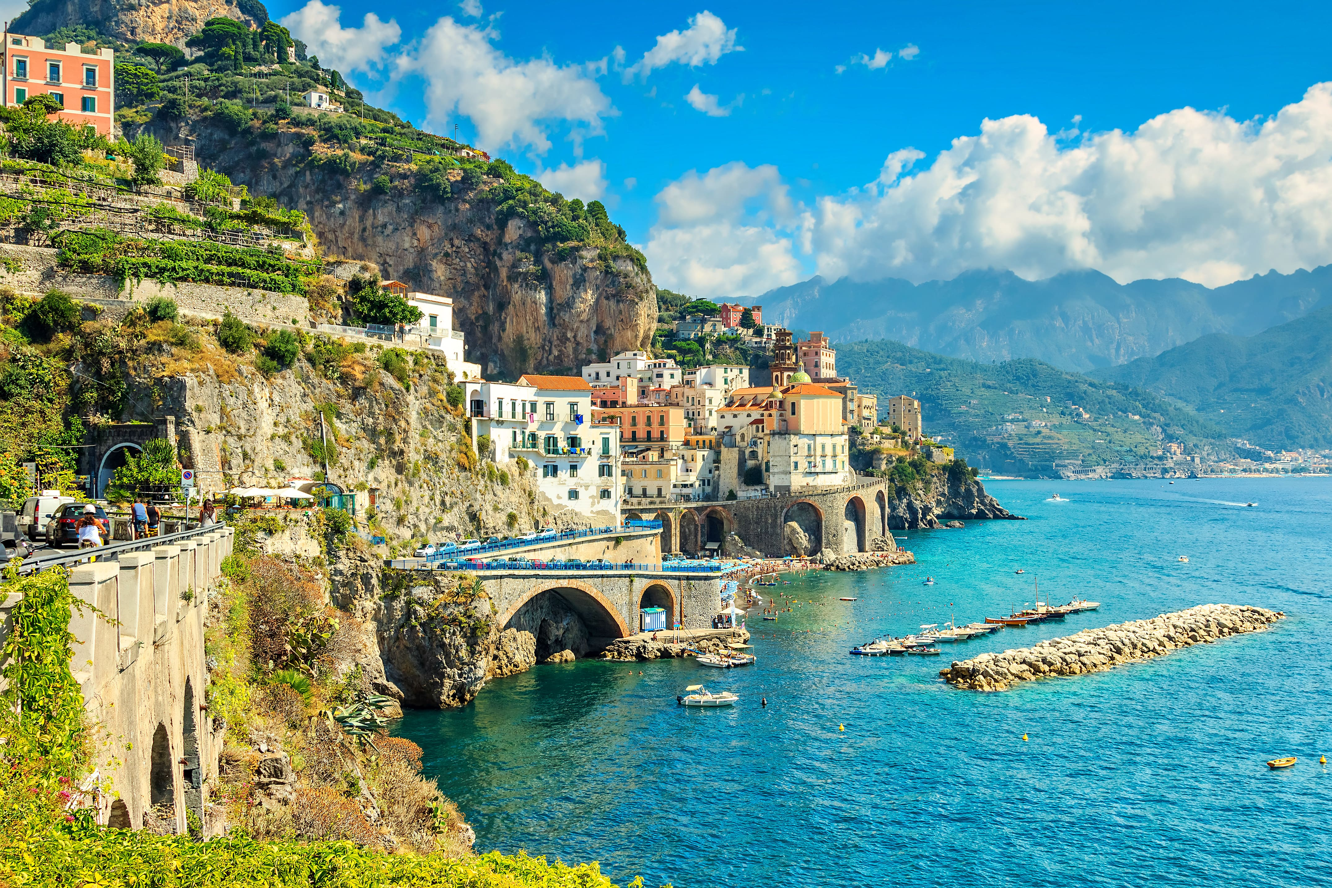 Small group tour from Milan to Amalfi Co Italy