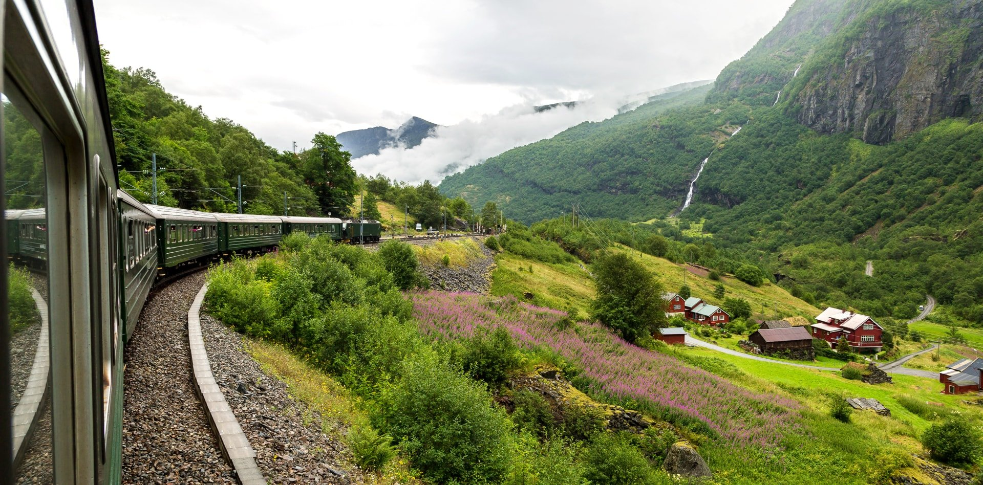 Flamsbana Railway, Norway