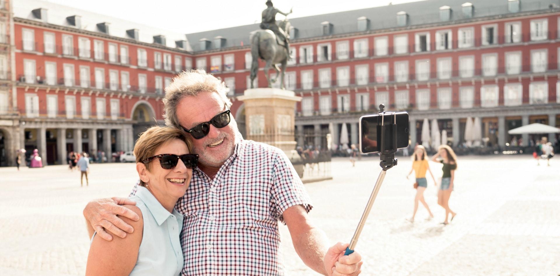 Travelers in Spain
