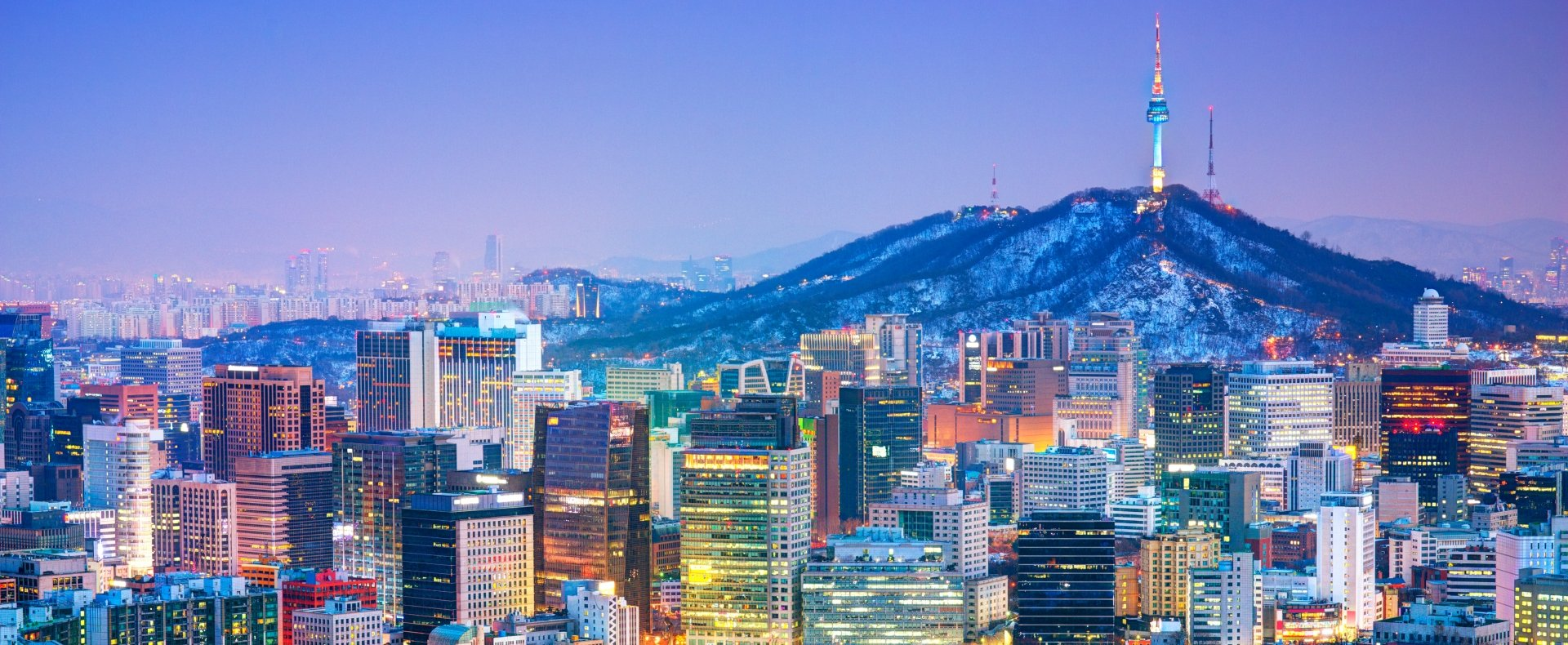 City scape, South Korea