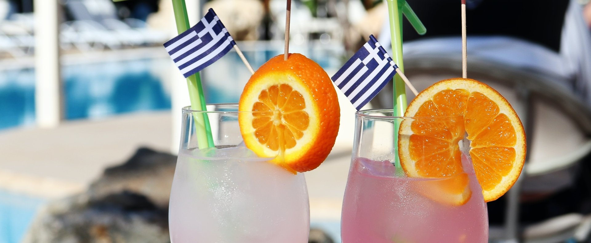 Cocktails in Greece