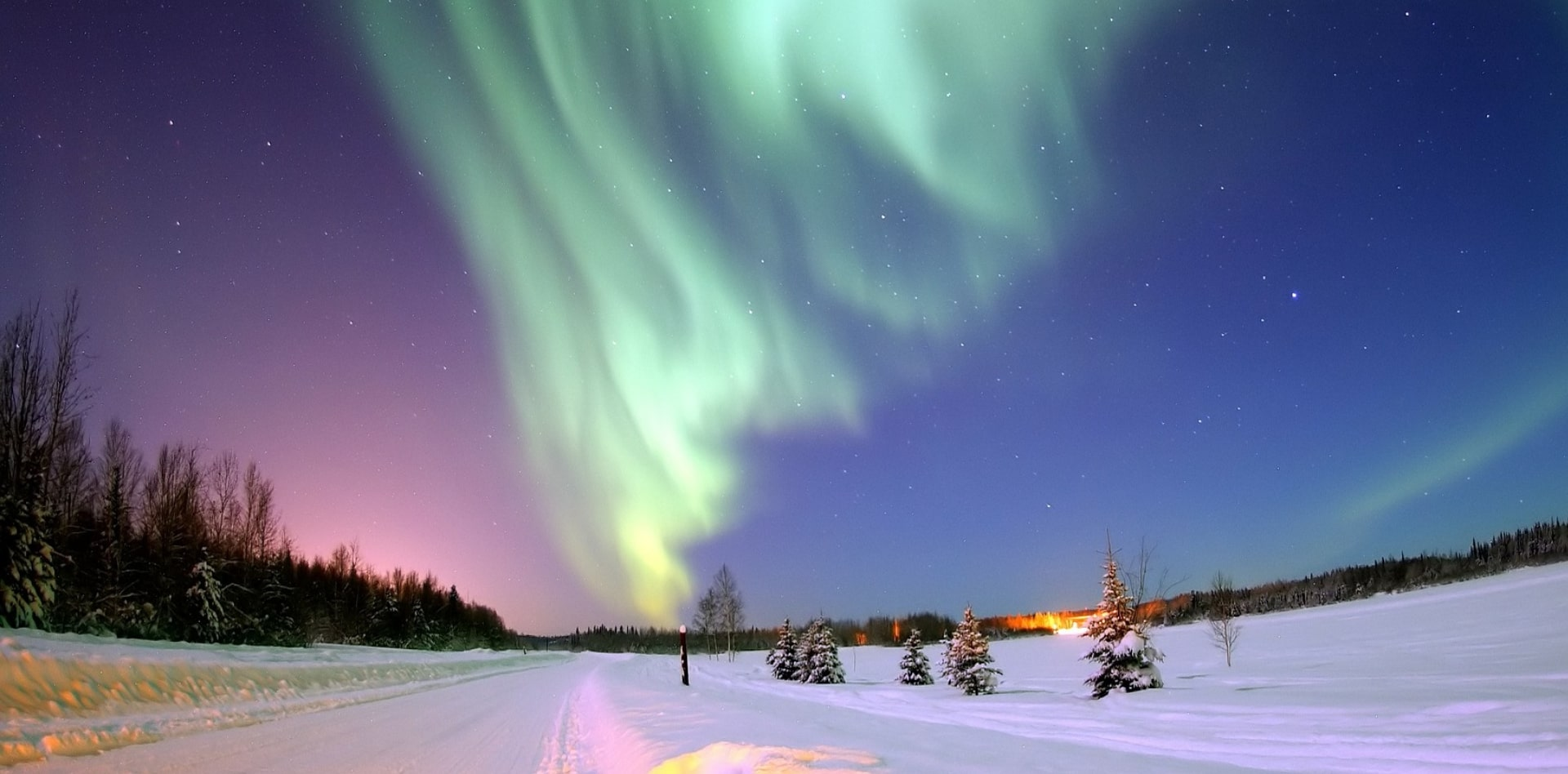 Private tour to Northern Lights in Russia