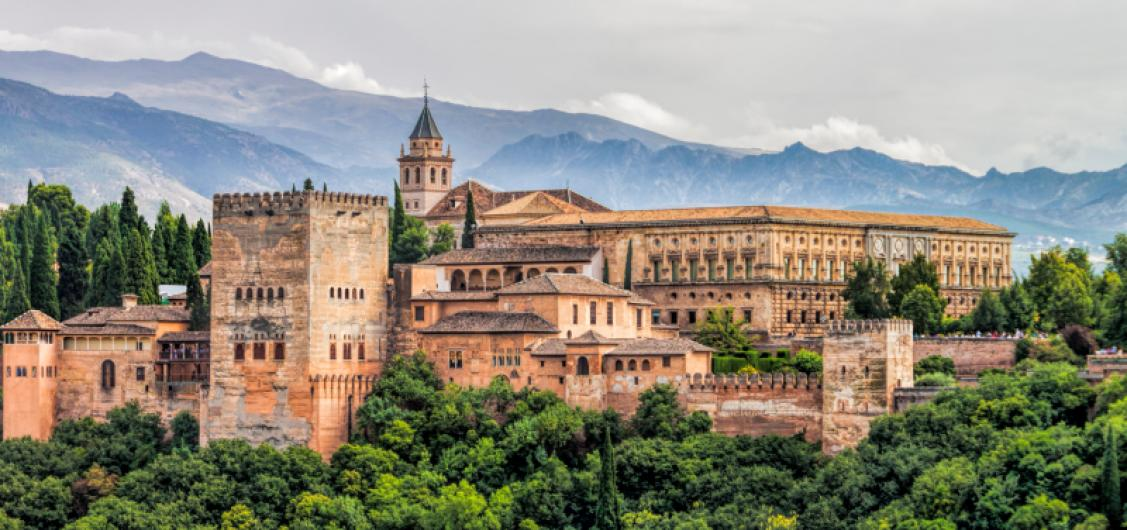 Full Day Trip to Alhambra of Granada by Trains