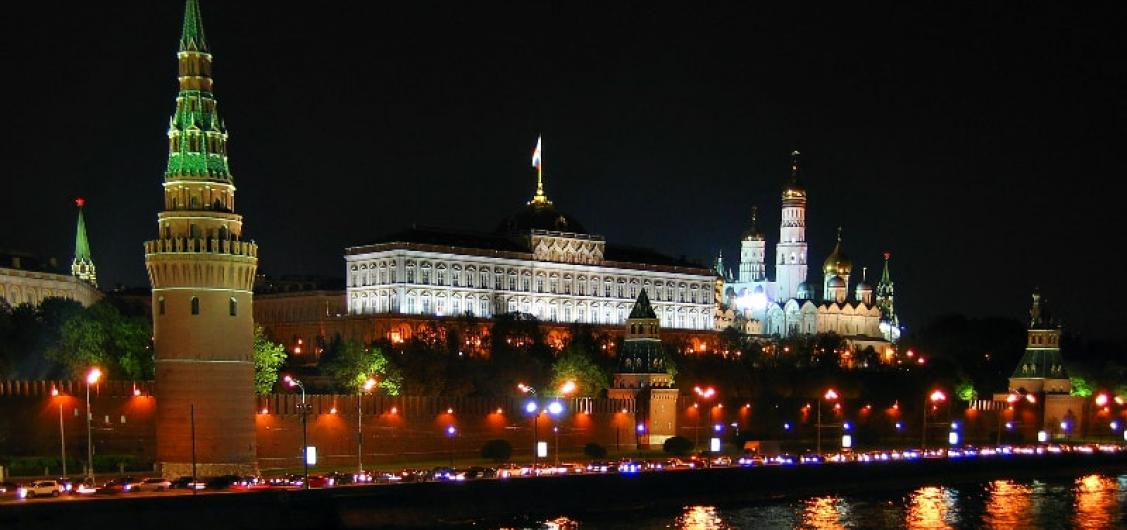 Moscow by Night Tour with Radisson Boat Ride