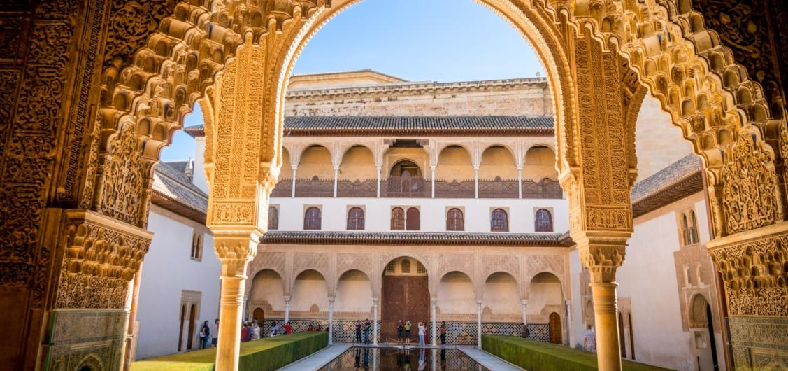 Day Trip to Alhambra of Granada by Trains
