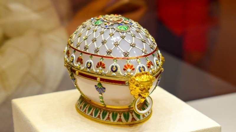 Half Day Guided Tour of the Faberge Museum