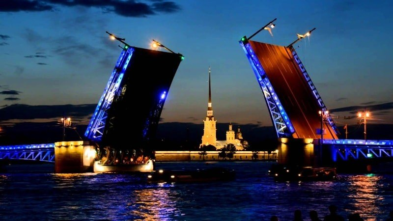 Private Guided Night Boat Ride with Drawing Bridges