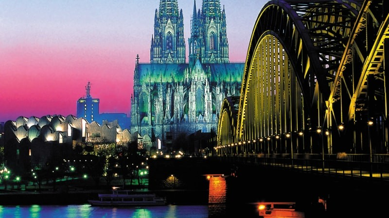 Evening Rhine Cruise in Cologne