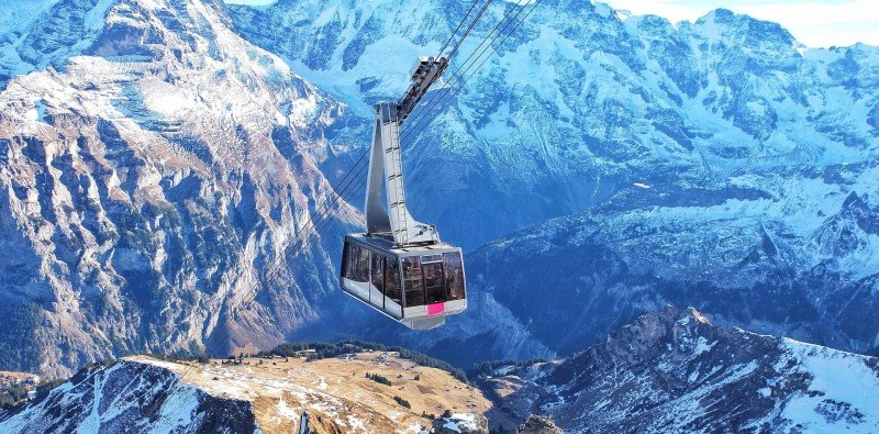 Schilthorn Cable Car & Self-guided Hike