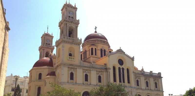 The Agios Minas Cathedral