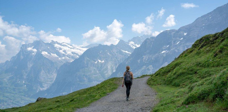 Guided Mountain Hike in Grindewald Region (Easy)