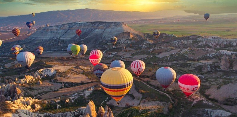 Hot Air Balloon Experience with Shared Transfers