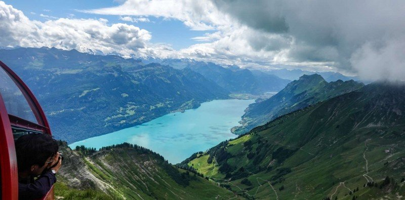 Day Trip to Rothorn Kulm by Steam Train