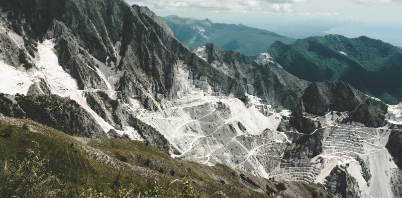 Full Day Private Trip to Carrera Marble Quarries